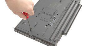 Залят с течност лаптоп - ремонт